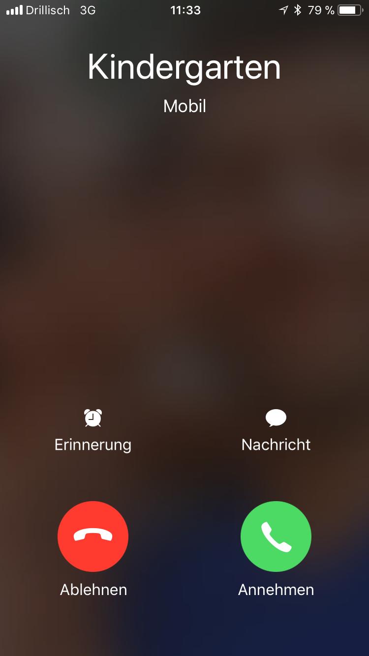Zunder Telefonnummer erste Nachricht